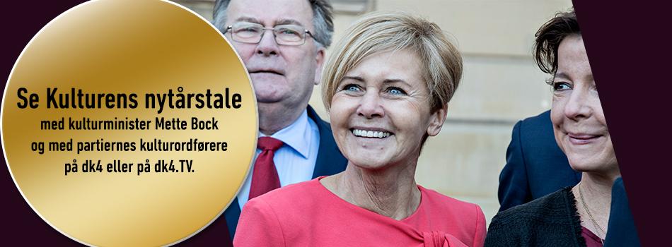 Kulturens nytårstale med kulturminister Mette Bock